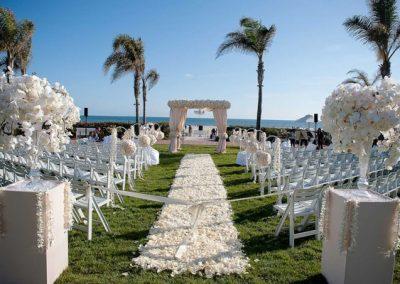 Outdoor destination wedding venue