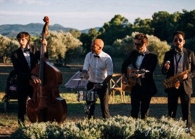 Live pop and jazz Band weddings