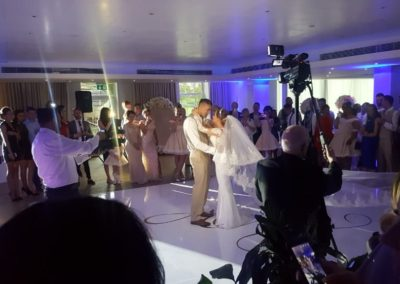 Bride & Groom dancing Eventastic