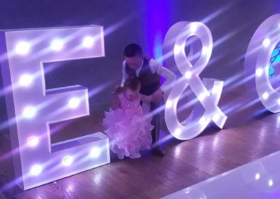 E&G Giant Light up Sign Eventastic