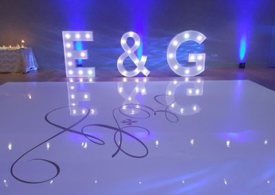 E&G Lights and Dance Floor Eventastic