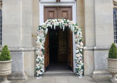 Outside Church entrance Eventastic